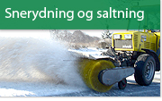 Snerydning og saltning